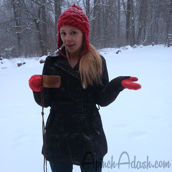 Let it snow ApinchAdash.com