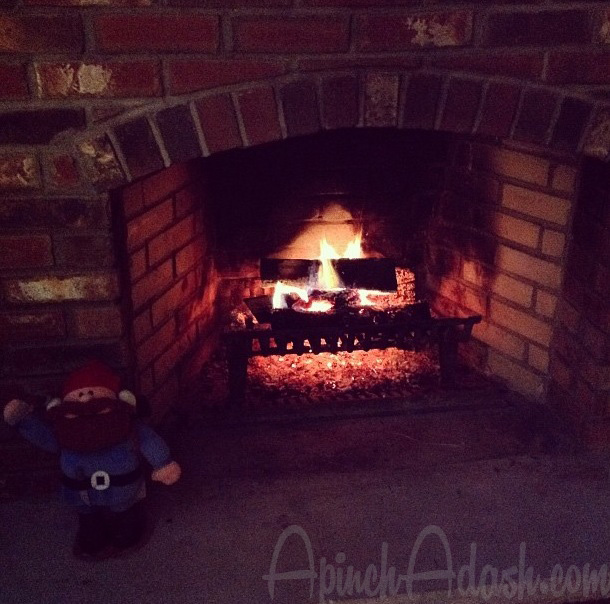 Cozy Fire ApinchAdash.com