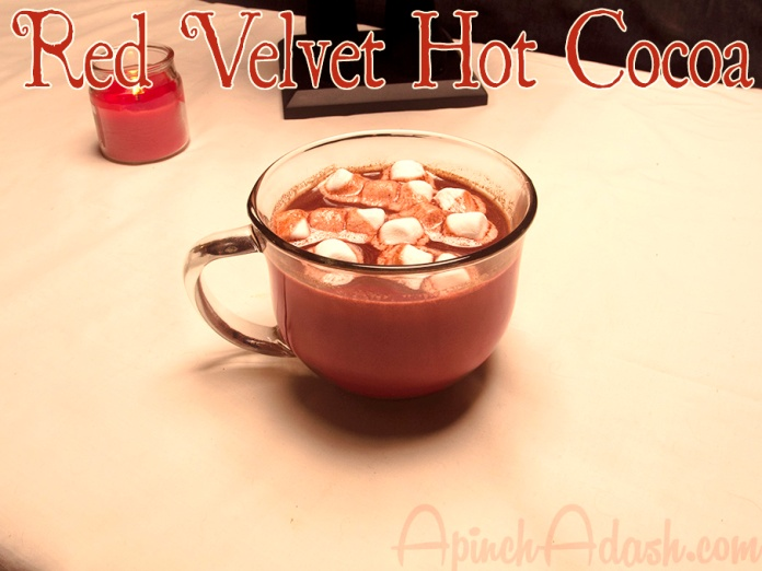 Red Velvet Hot Cocoa ApinchAdash