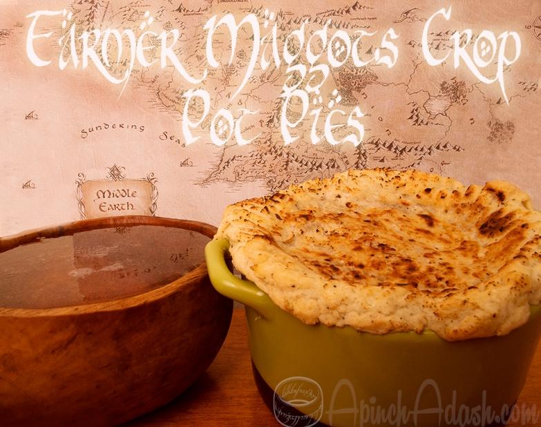 Famer Maggots Crop Pot Pies ApinchAdash