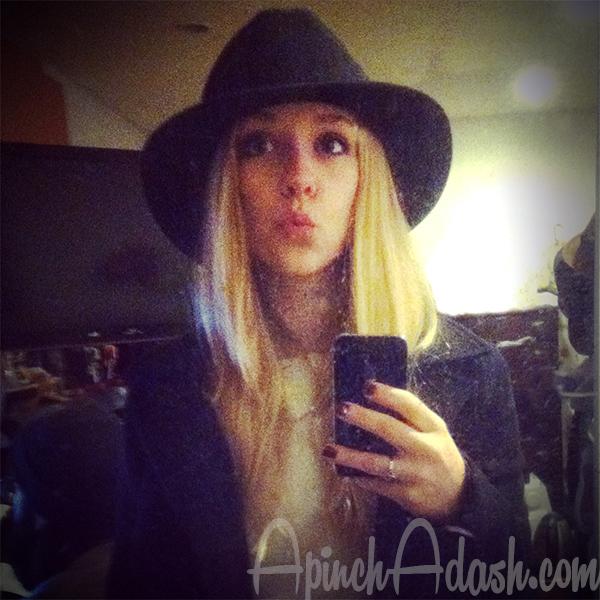 Killer Hat, Man. ApinchAdash.com