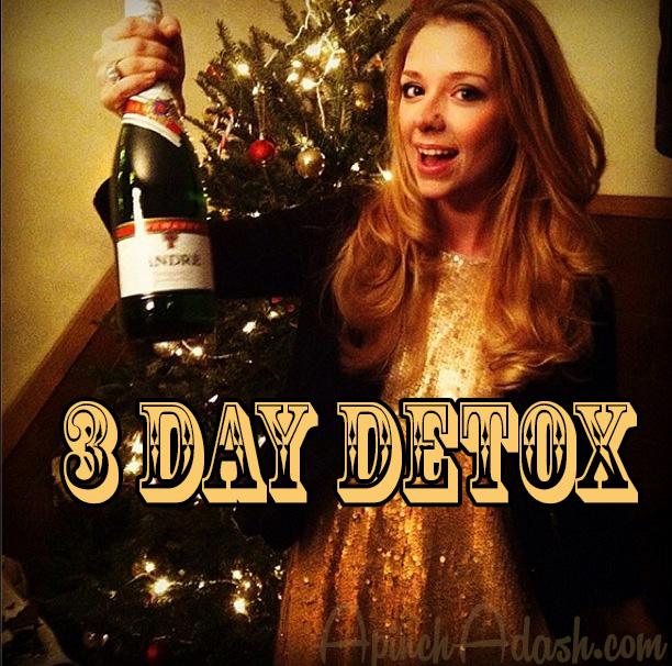3 Day Food Based Detox ApinchAdash.com