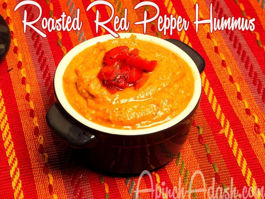 Red Pepper Hummus Apinchadash