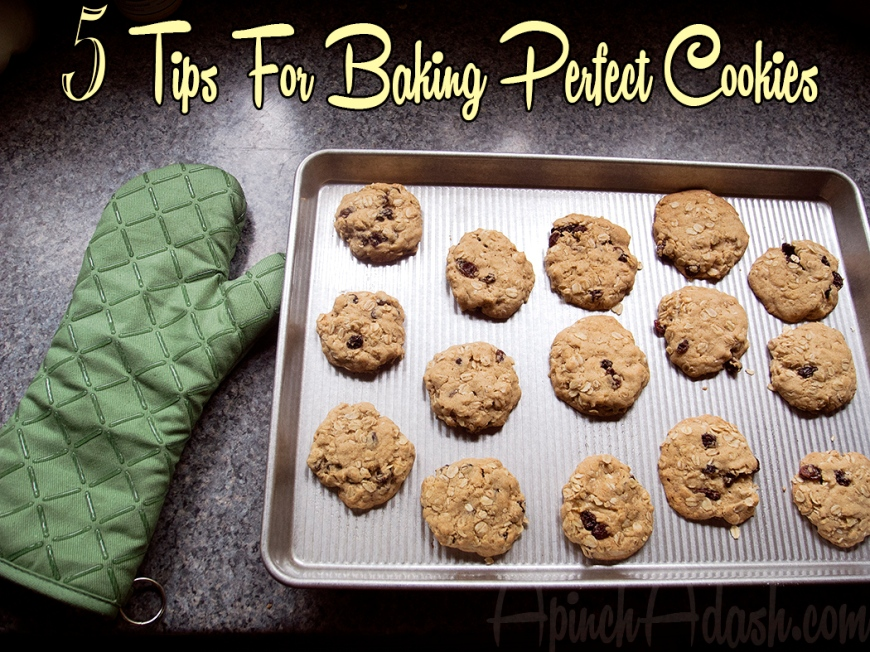 Perfect Cookies ApinchAdash.com