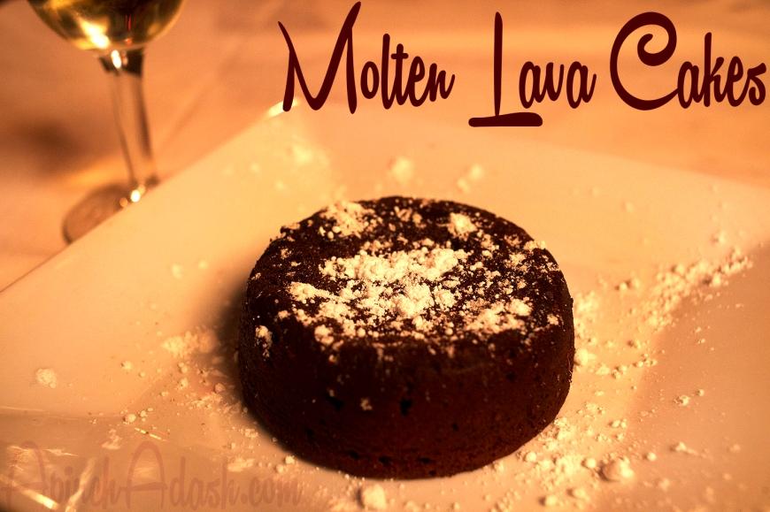 Molten Lava Cakes APINCHADASH.COM