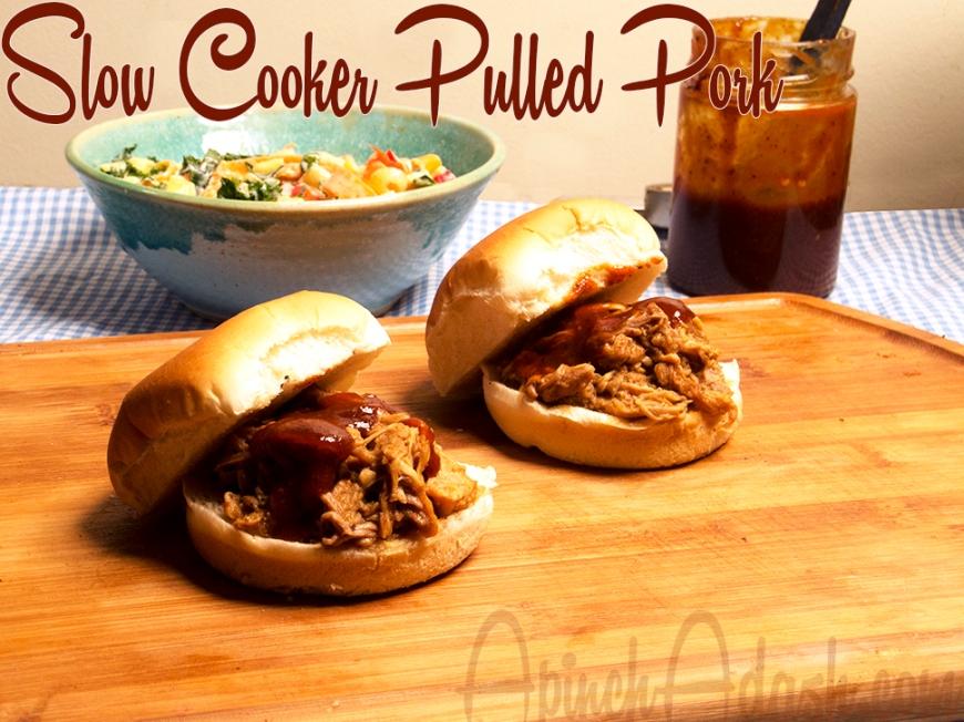 Slow Cooker Pulled Pork APINCHADASH.COM