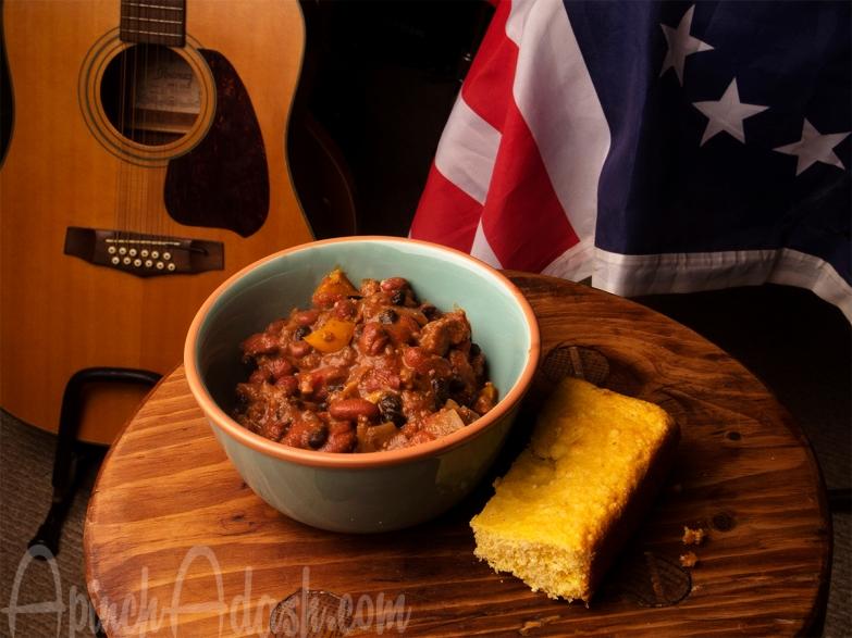 Johnny Cash Chili Apinchadash.com
