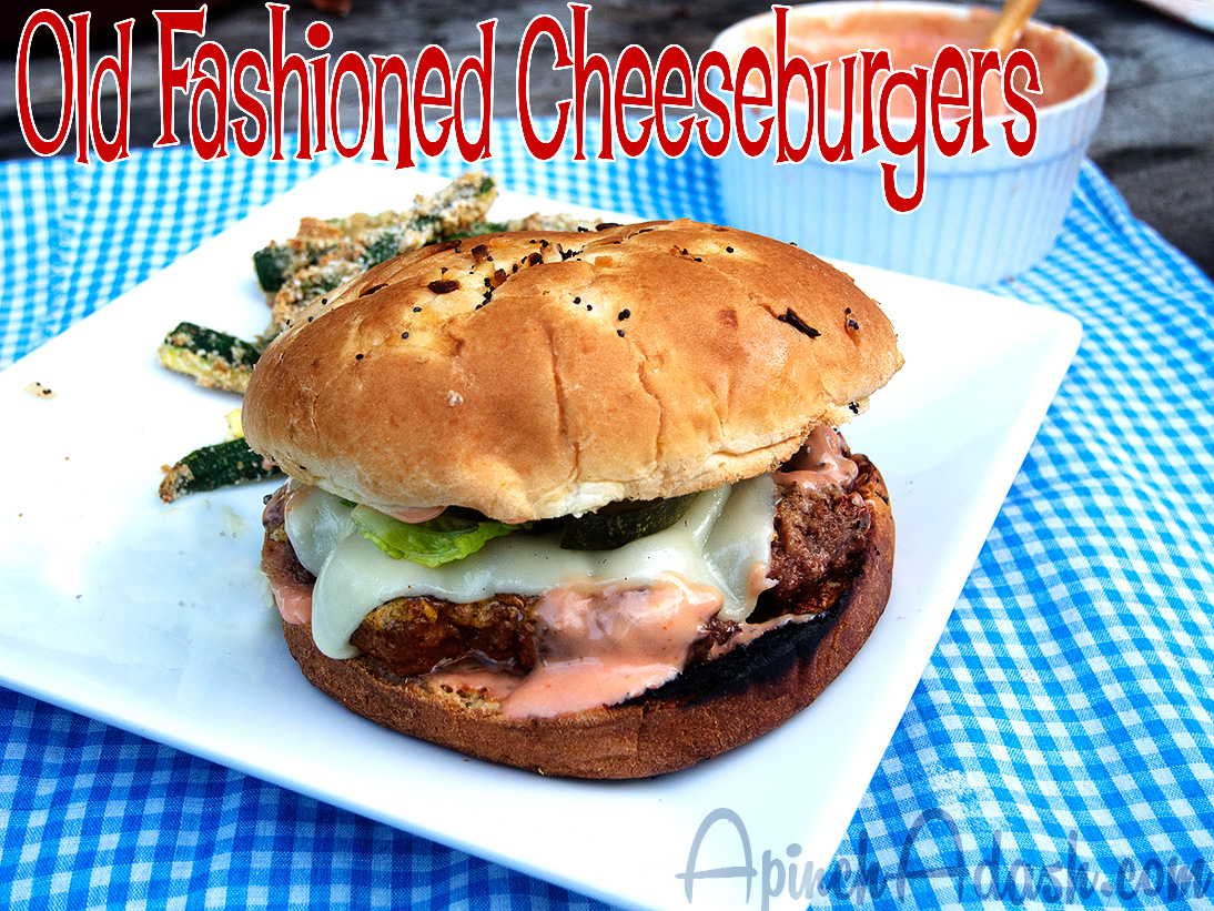Old-Fashioned Cheeseburgers Recipe — Dishmaps