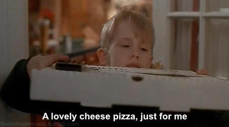 Home Alone Lovely Cheese Pizza apinchadash.com