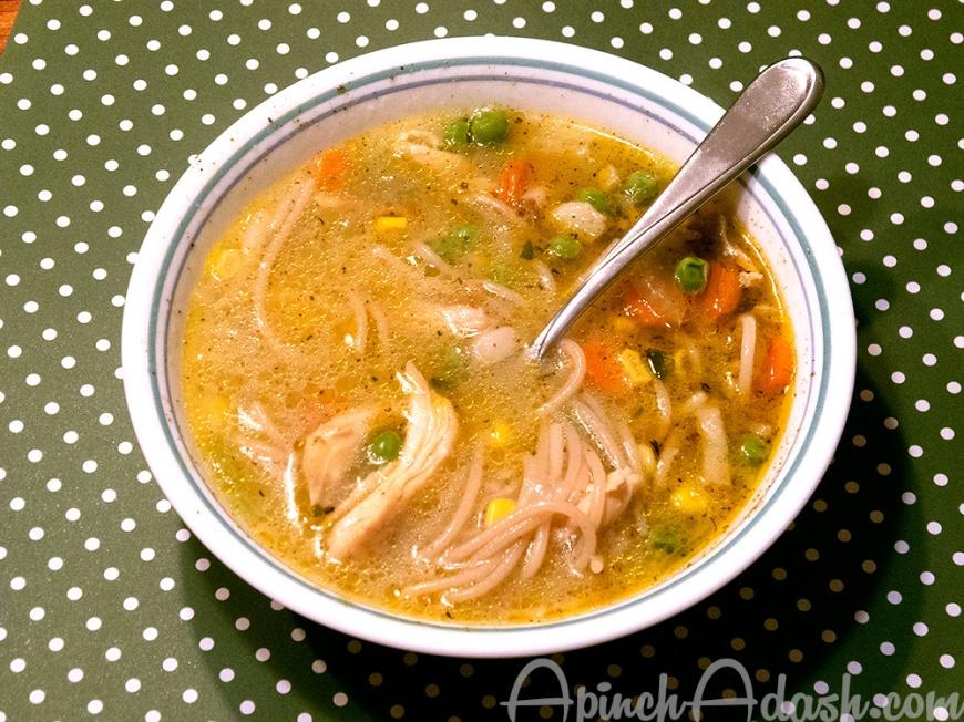Katharine's Turkey Soup apinchadash.com