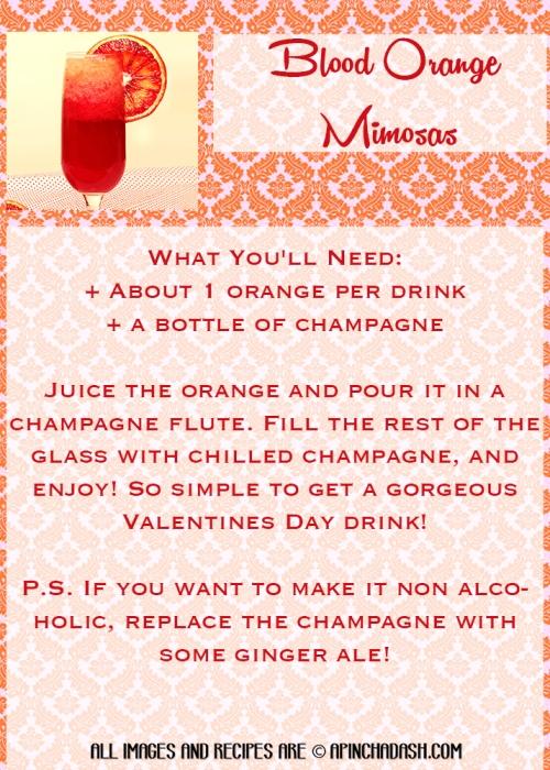Blood Orange Mimosas apinchadash.com