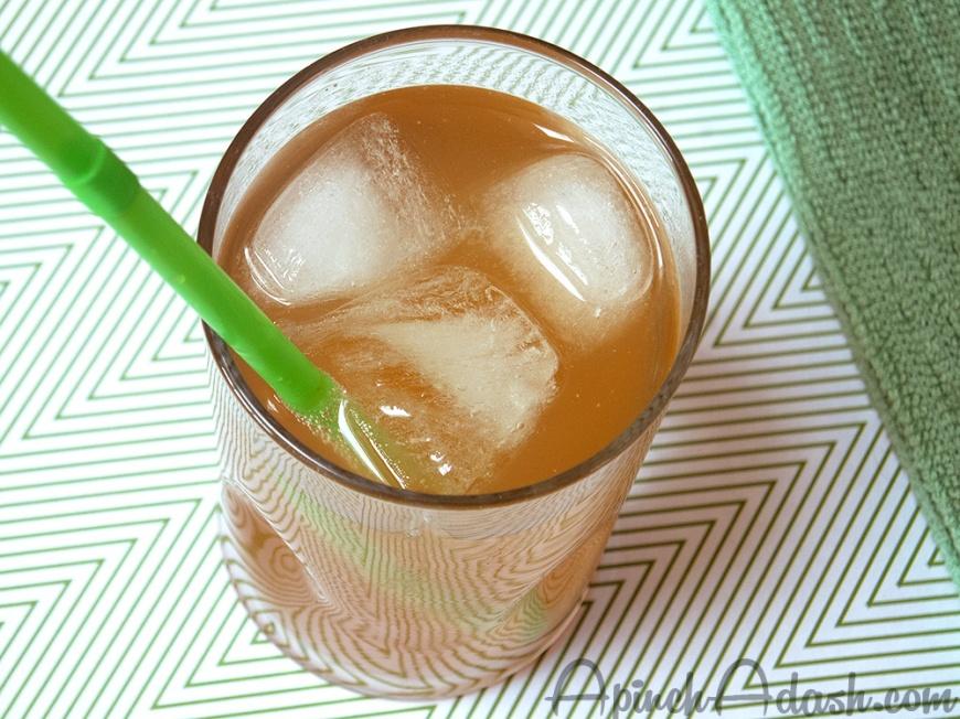 Homemade Ginger Ale apinchadash.com