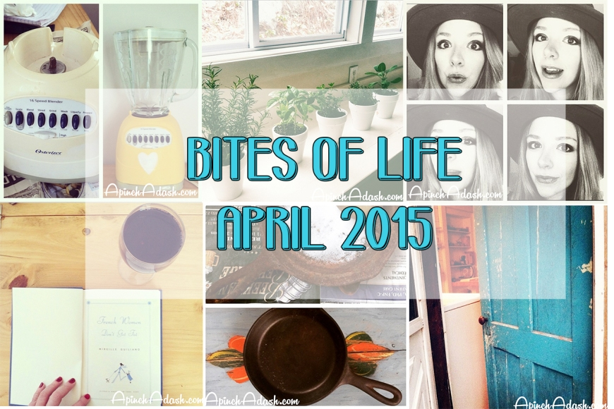Bites of Life: April apinchadash.com