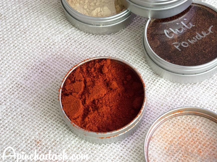 DIY Spice Rack apinchadash.com
