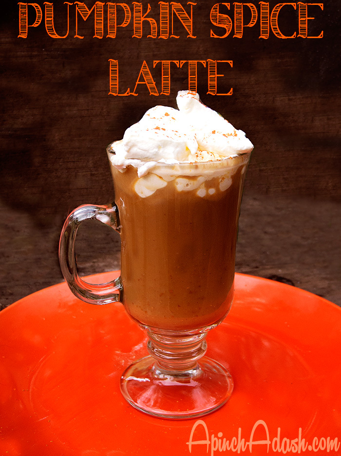 Pumpkin Spice Latte apinchadash.com