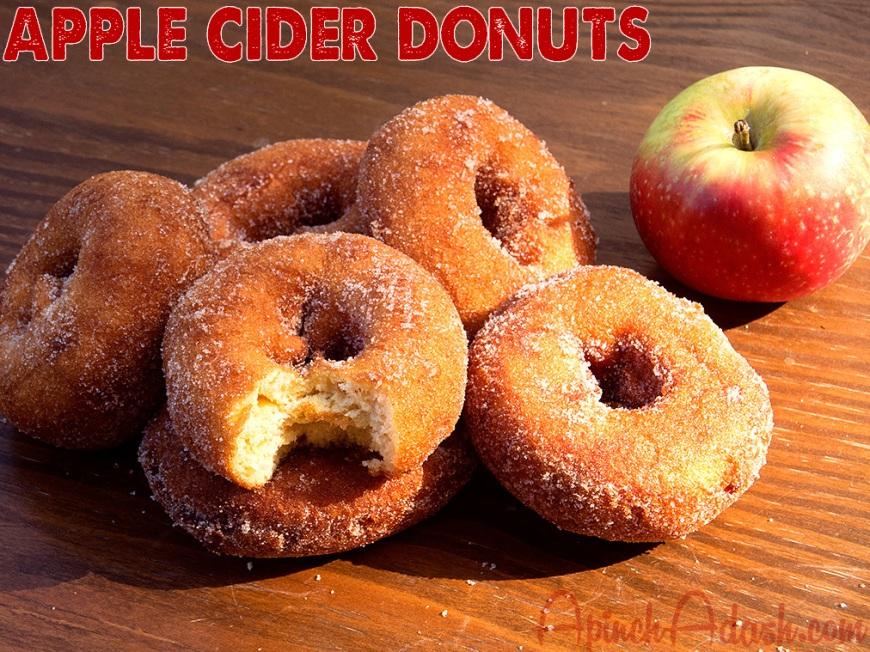 Apple Cider Donuts apinchadash.com